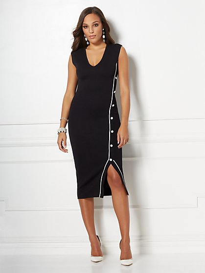 Cyndi Sheath Sweater Dress - Eva Mendes Collection - New York & Company