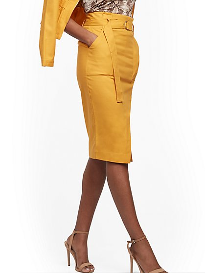 D-Ring Pencil Skirt - New York & Company