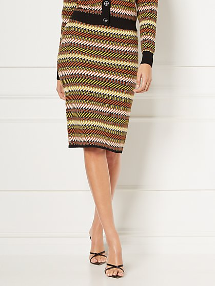 Daryl Sweater Pencil Skirt - Eva Mendes Collection - New York & Company