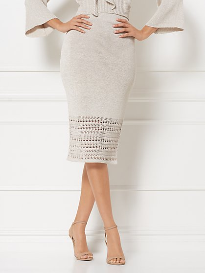 Dawn Sweater Skirt - Eva Mendes Collection - New York & Company