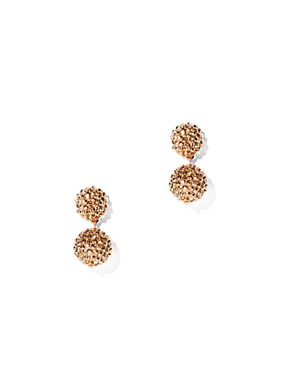 Dazzling Spherical Drop Earring - New York & Company