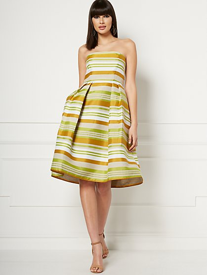 Del Mar Stripe Dress - Eva Mendes Fiesta Collection - New York & Company