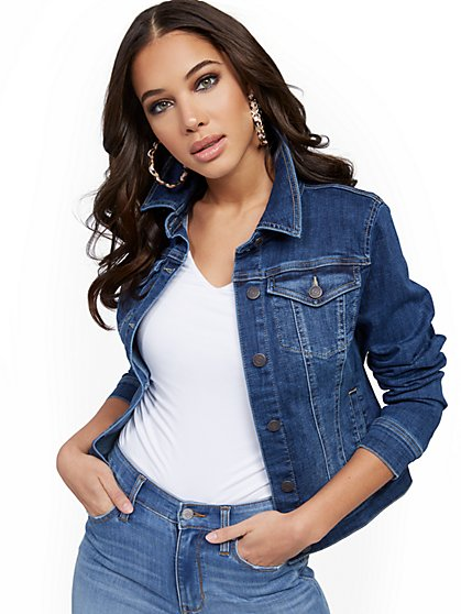 Denim Jacket - Chameleon Blue - New York & Company