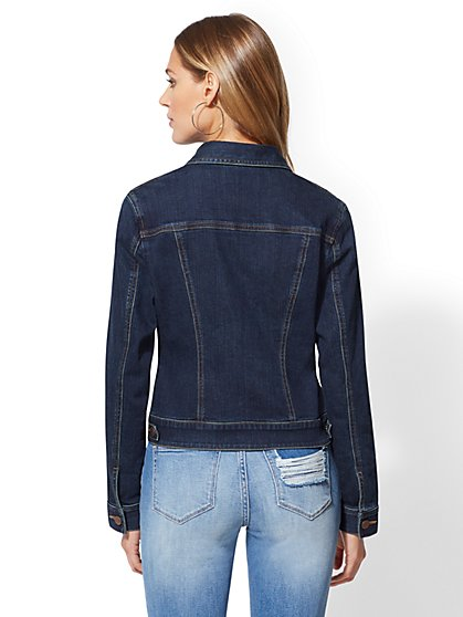 b0624eb976c95 ... Denim Jacket - Deep End Blue - New York   Company