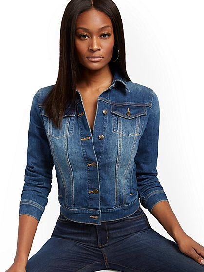 Denim Jacket - Lizzy Blue - New York & Company