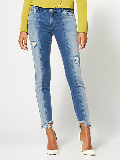 Destroyed Boyfriend Jeans - Gabrielle Union Collection - New York & Company