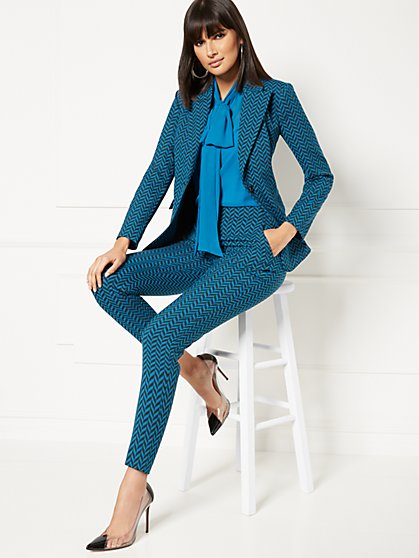 Diana Chevron Blazer - Eva Mendes Collection - New York & Company