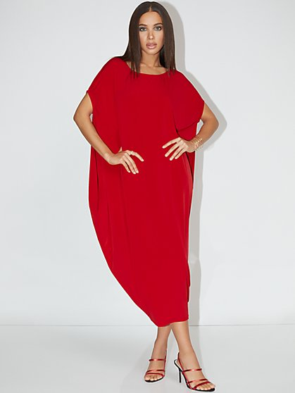 Dolman Knit Maxi Dress - NY&C Style System - New York & Company