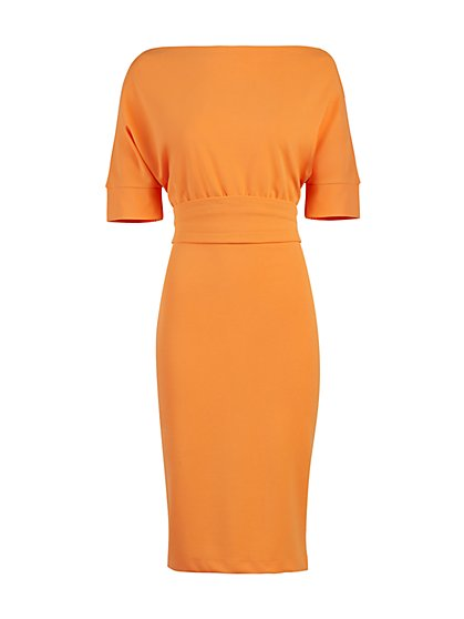 Dolman Sheath Dress - New York & Company