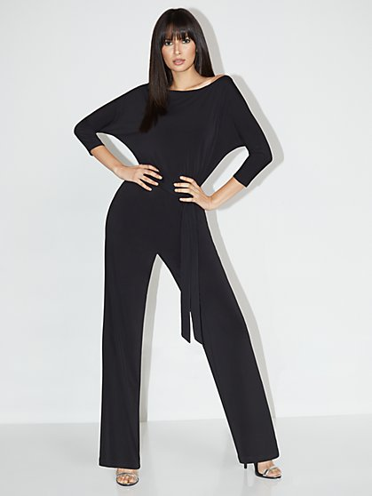 Dolman-Sleeve Jumpsuit - NY&C Style System - New York & Company
