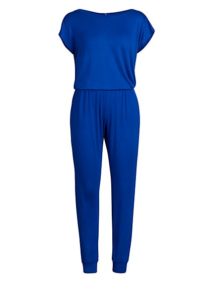 Dolman-Sleeve Jumpsuit - New York & Company