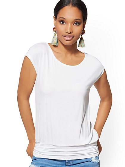 Dolman Top - Soho Soft Tee - New York & Company