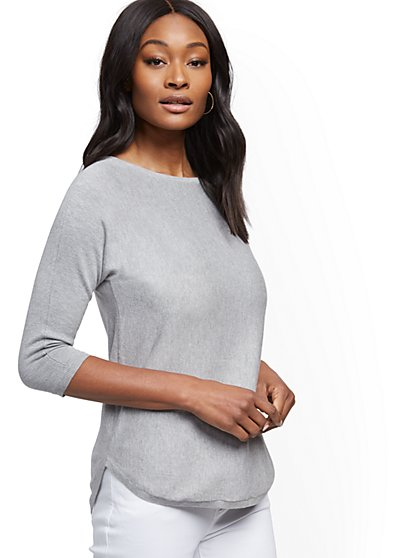 Dolman Tunic Sweater - New York & Company
