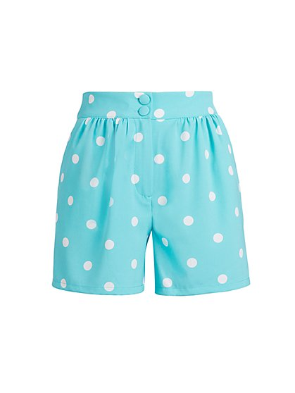 Dot-Print 4-Inch Short - 7th Avenue - New York & Company