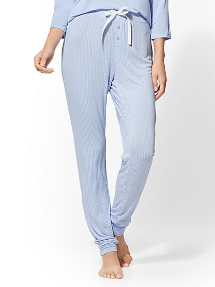 Dot-Print Pajama Pant - New York & Company