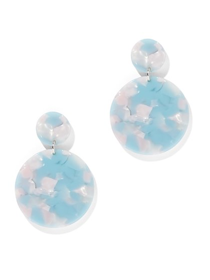 Double Circle Drop Earring - New York & Company