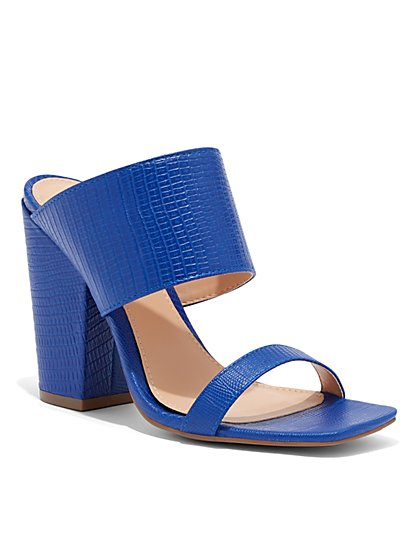 Double-Strap High-Heel Sandal - New York & Company