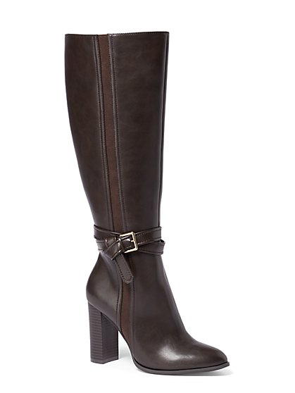 Double-Wrap Boot - New York & Company