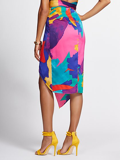c81bbabf ... Draped Overlay Pencil Skirt - Gabrielle Union Collection - New York &  Company