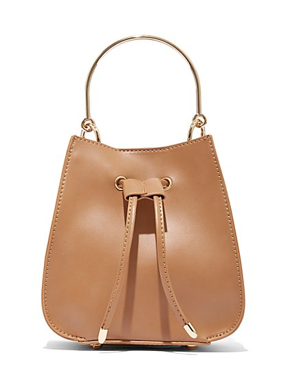 Drawstring Crossbody Bag - Eva Mendes Collection - New York & Company