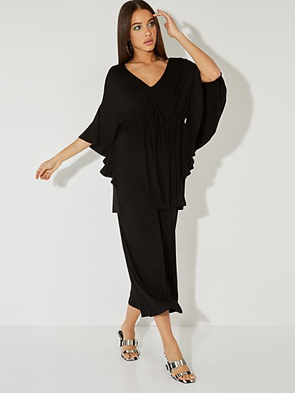Drawstring Kimono Top - NY&C Style System - New York & Company