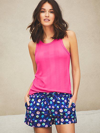 Dreamers & Doers Cotton PJ Short - New York & Company