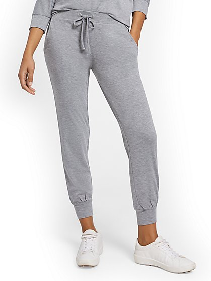 Dreamy French Terry Drawstring Jogger Pant - New York & Company