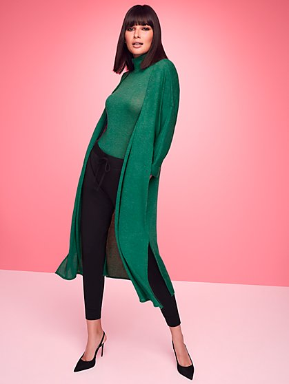 Duster Cardigan - Sweet Pea - New York & Company