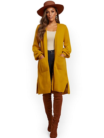 Duster Cardigan - New York & Company