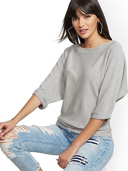 Easy Dolman Sweater - New York & Company