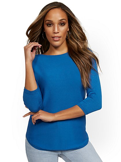 Easy Dolman Tunic Sweater - New York & Company