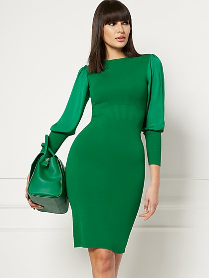 Electra Sweater Dress - Eva Mendes Collection - New York & Company