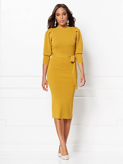 Elisabeth Sweater Sheath Dress - Eva Mendes Collection - New York & Company