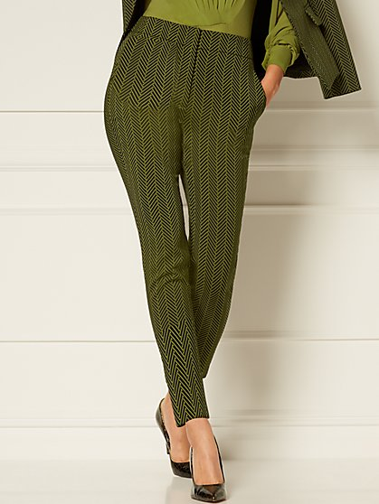 Elise Jacquard Pant - Eva Mendes Collection - New York & Company