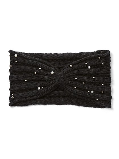 Embellished Head Wrap - New York & Company
