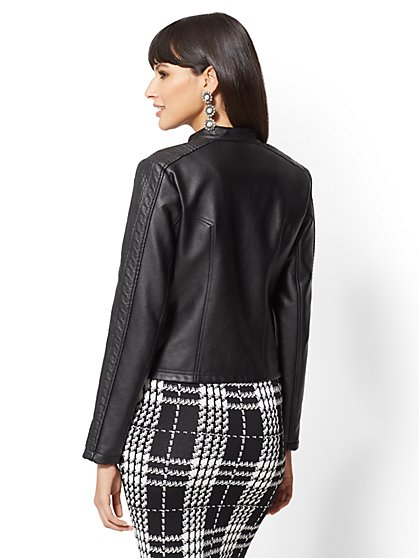 df1059366378d Size Extra Extra Large Black Jackets & Coats for Women | NY&C