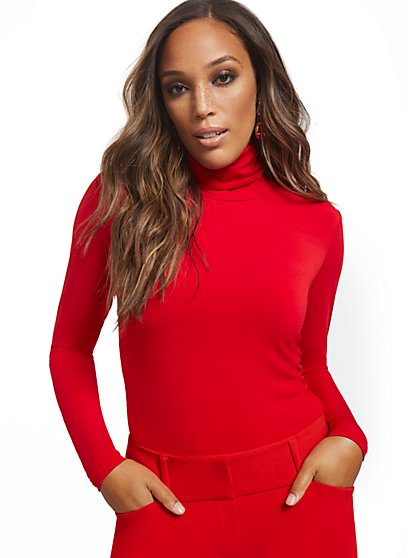 Essential Turtleneck Top - New York & Company