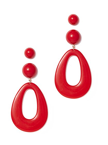 Eva Mendes Collection - 2-Piece Post & Teardrop Earring Set - New York & Company