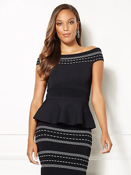 Eva Mendes Collection - Aimee Off-The-Shoulder Top - New York & Company