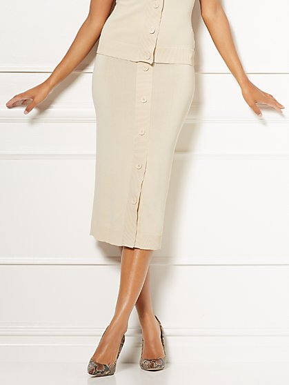 Eva Mendes Collection - Alissa Sweater Skirt - New York & Company