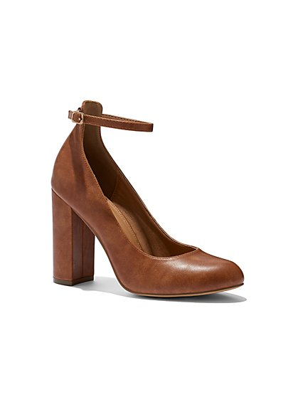 Eva Mendes Collection - Ankle-Strap Pump - New York & Company