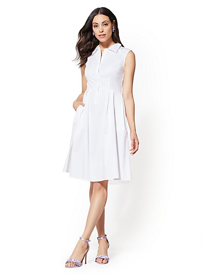 Eva Mendes Collection - Brita Shirtdress - New York & Company