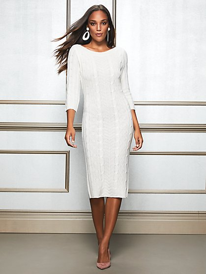 Eva Mendes Collection - Calina Sweater Dress - New York & Company