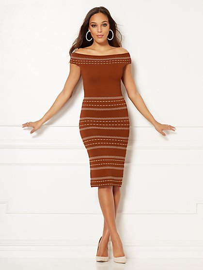 Eva Mendes Collection - Chantelle Sweater Dress - New York & Company