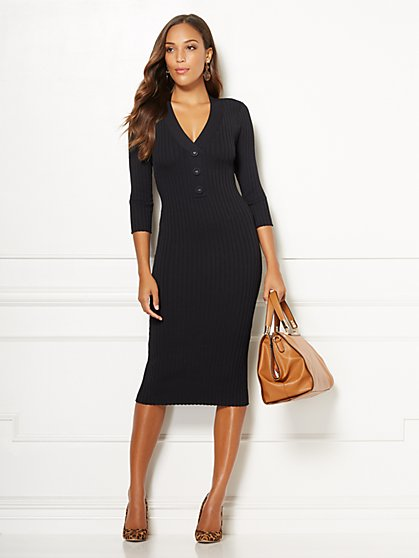 Eva Mendes Collection - Cherelle Sweater Dress - New York & Company