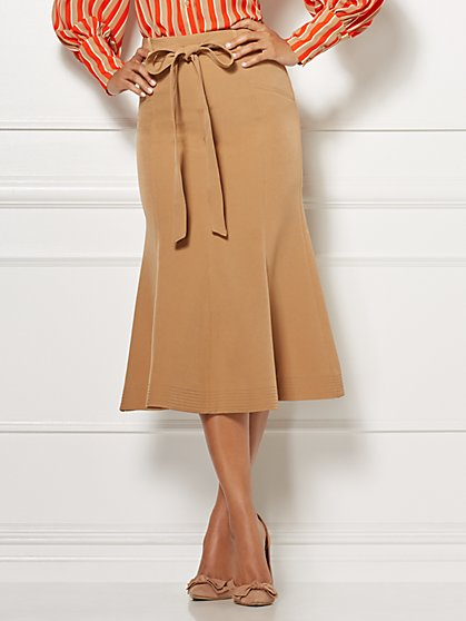 Eva Mendes Collection - Claudine Flounced Skirt - New York & Company