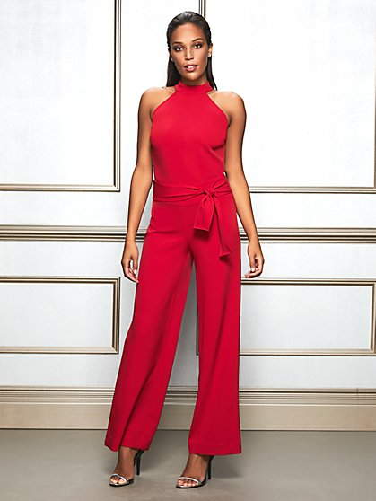 Eva Mendes Collection - Cybill Tie-Waist Pant - New York & Company