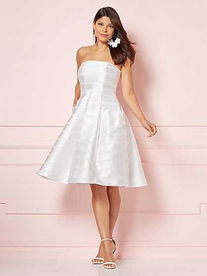 Eva Mendes Collection - Del Mar White Dress - New York & Company