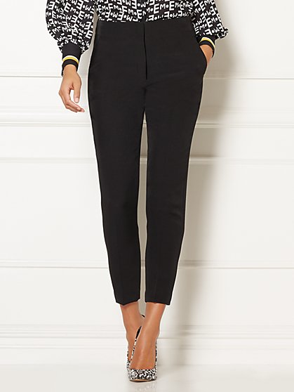 Eva Mendes Collection - Doria Black Pant - New York & Company