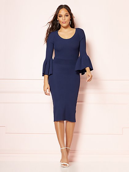 Eva Mendes Collection - Frieda Sweater Dress - New York & Company